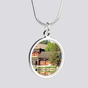 Peking 003 Silver Round Necklace