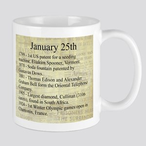 January 25th Mugs