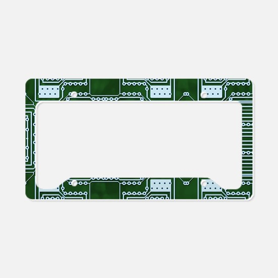 Circuit Board License Plate Holder