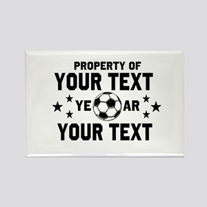Personalized Property of Soccer Magnets