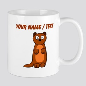 Custom Cartoon Weasel Mugs