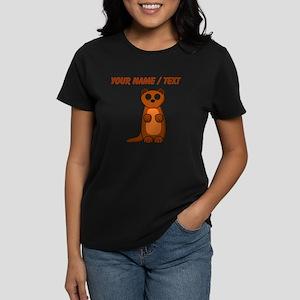 Custom Cartoon Weasel T-Shirt