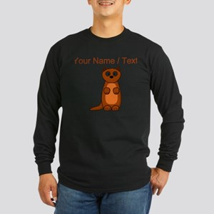 Custom Cartoon Weasel Long Sleeve T-Shirt