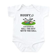Rugby Kills Infant Bodysuit