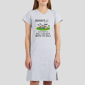 Rugby Kills Women's Nightshirt
