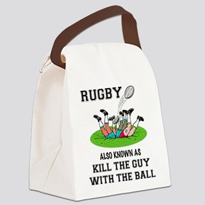 Rugby Kills Canvas Lunch Bag