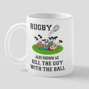 Rugby Kills Mug