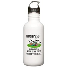 Rugby Kills Stainless Water Bottle 1.0L