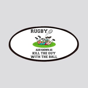 Rugby Kills Patches