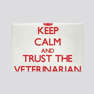 Keep Calm and Trust the Veterinarian Magnets