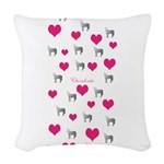 Horse Design#75000 Woven Throw Pillow