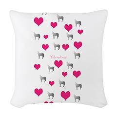 Horse Design#75000 Woven Throw Pillow