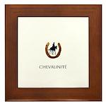Horse Theme Design #45000 Framed Tile