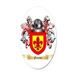 Freyne Oval Car Magnet