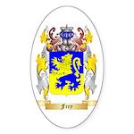 Frey 2 Sticker (Oval 50 pk)