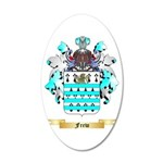 Frew 20x12 Oval Wall Decal