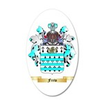 Frew 35x21 Oval Wall Decal