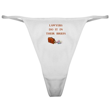 Lawyers Gift Classic Thong