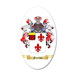 Freriks 35x21 Oval Wall Decal