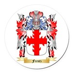 Frentz Round Car Magnet