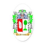 Frensch Oval Car Magnet
