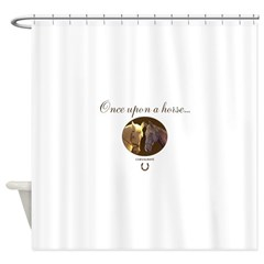 Horse Theme Design #55000 Shower Curtain