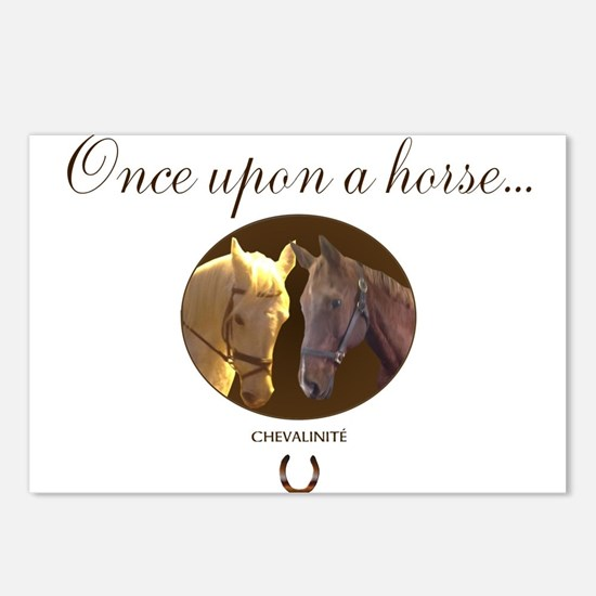 Horse Theme Design #55000 Postcards (Package of 8)