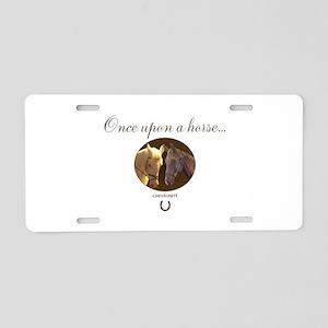 Horse Theme Design #55000 Aluminum License Plate