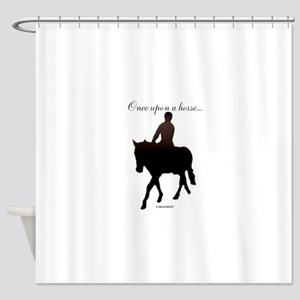 Horse Theme Design #56000 Shower Curtain