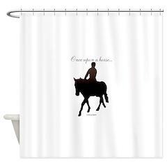 Horse Theme Design #56000 Shower Curtain