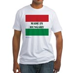"""Made in Hungary"" Fitted T-Shirt"