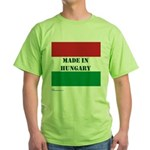"""""""Made in Hungary"""" Green T-Shirt"""
