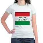 """""""Made in Hungary"""" Jr. Ringer T-Shirt"""