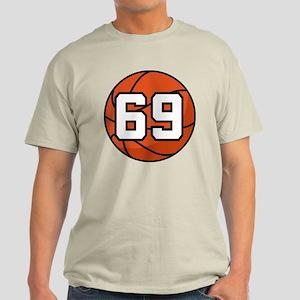 Basketball Player Number 69 Light T-Shirt