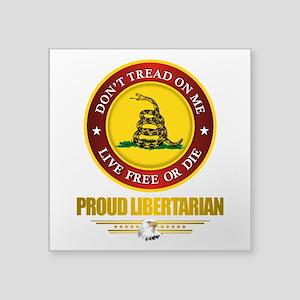 (DTOM) Libertarian Sticker