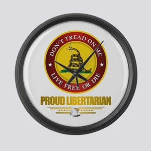 (DTOM) Libertarian Large Wall Clock