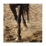 Horse Theme Design #40000 Tile Coaster