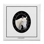 Horse Theme Design #42000 Tile Coaster