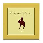 Horse Theme Design #44000 Tile Coaster