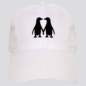 Penguin couple love Cap