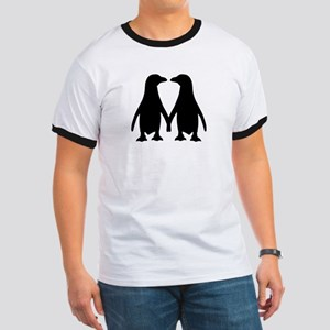 Penguin couple love Ringer T