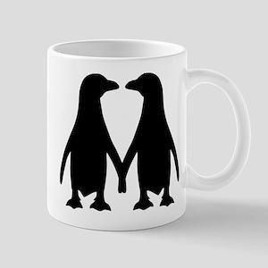 Penguin couple love Mug