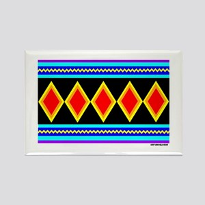 CREEK INDIAN TRIBE Rectangle Magnet