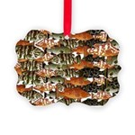 5 grouper pattern Ornament