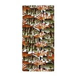 5 grouper pattern Beach Towel