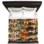 5 grouper pattern King Duvet