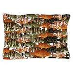 5 grouper pattern Pillow Case