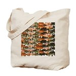 5 grouper pattern Tote Bag