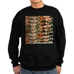 5 grouper pattern Sweatshirt