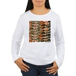 5 grouper pattern Long Sleeve T-Shirt